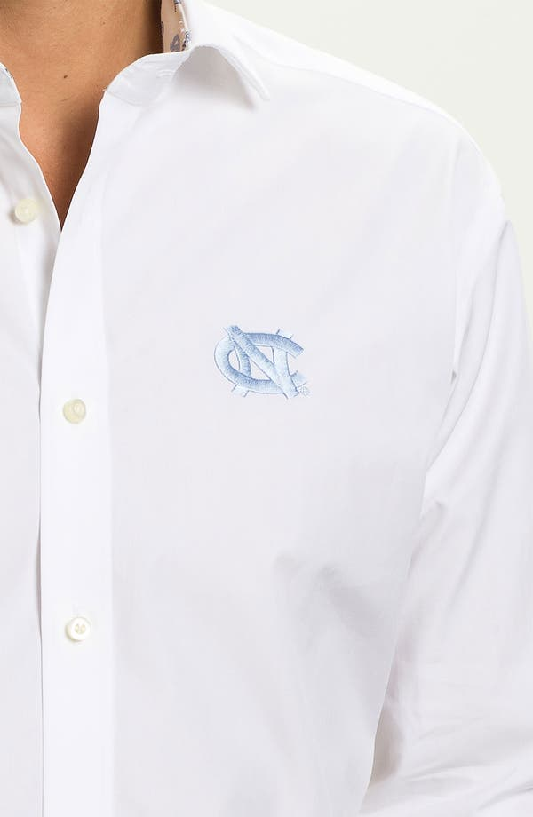 Alternate Image 3  - Thomas Dean 'University of North Carolina' Sport Shirt