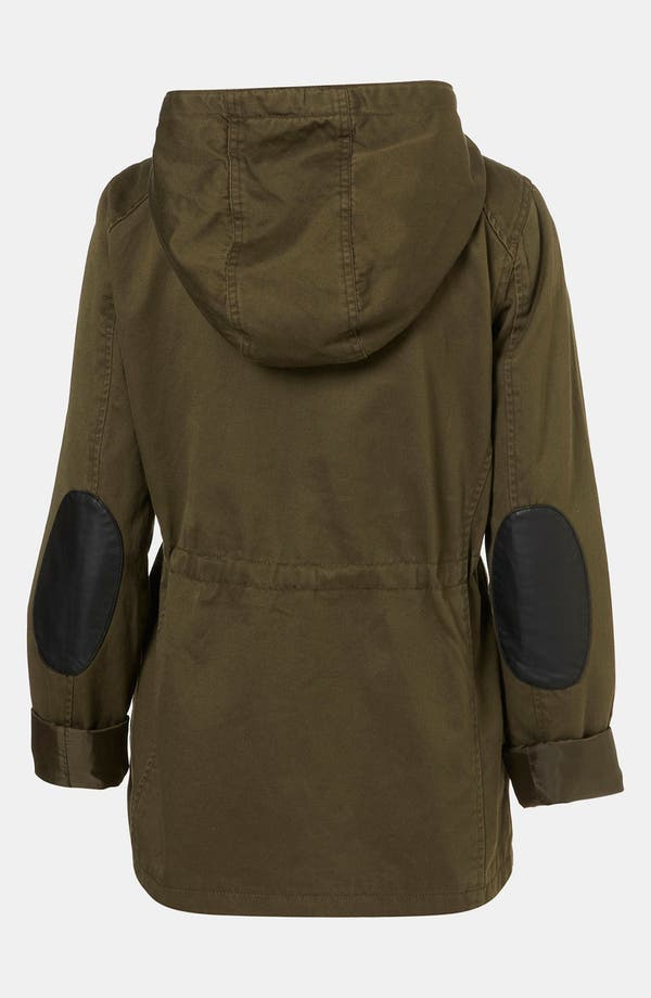 Alternate Image 2  - Topshop Hooded Utility Jacket