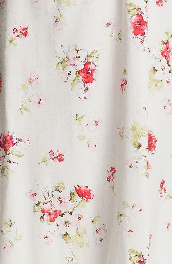 Alternate Image 3  - Carole Hochman Designs 'Roseberry Amaryllis' Nightgown