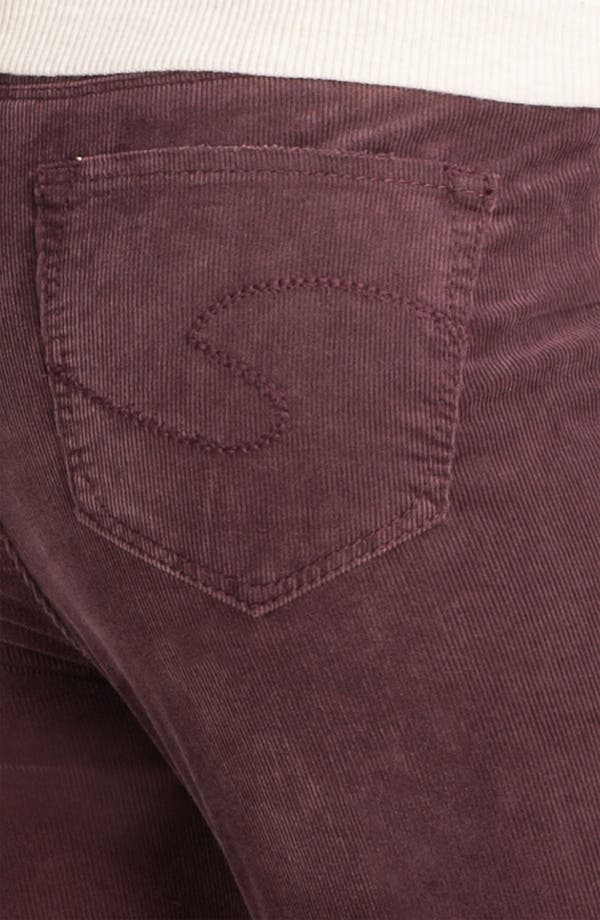 Alternate Image 3  - Silver Jeans Co. 'Suki' Skinny Corduroy Pants (Juniors)