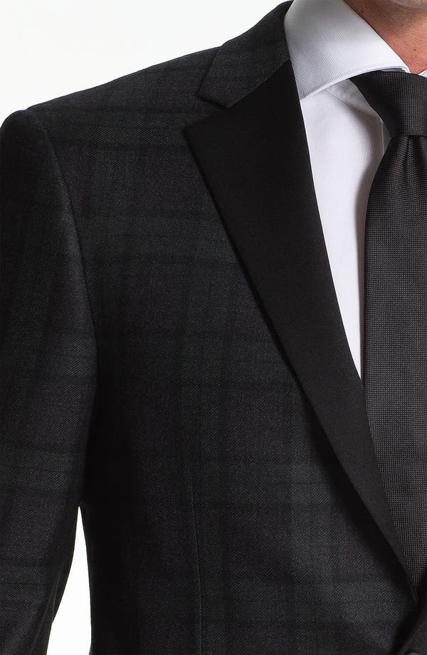 Alternate Image 3  - Samuelsohn Plaid Dinner Jacket