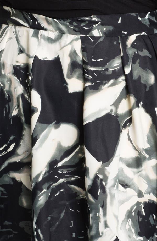 Alternate Image 3  - Donna Ricco Mock Two Piece Surplice Dress (Plus)