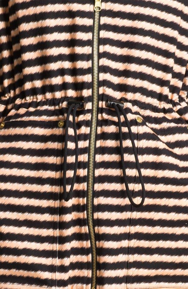 Alternate Image 4  - KENZO Stripe Anorak