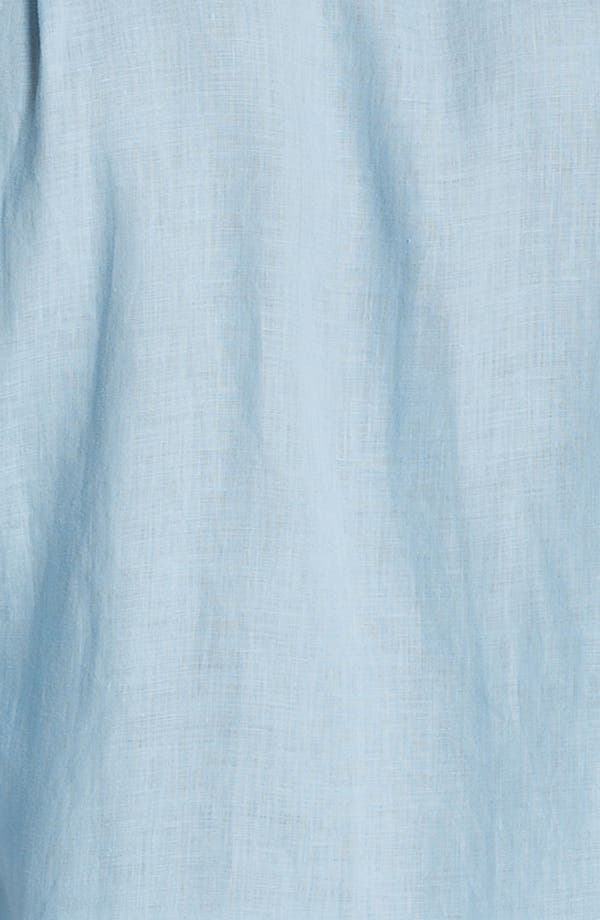 Alternate Image 3  - Vilebrequin 'Caroubier' Linen Sport Shirt