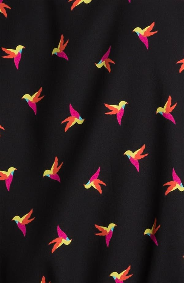 Alternate Image 3  - Bellatrix Hummingbird Print Baseball Jacket