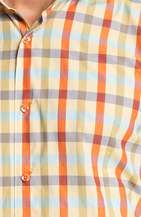 Alternate Image 2  - Bogosse 'Chain 51' Trim Fit Sport Shirt