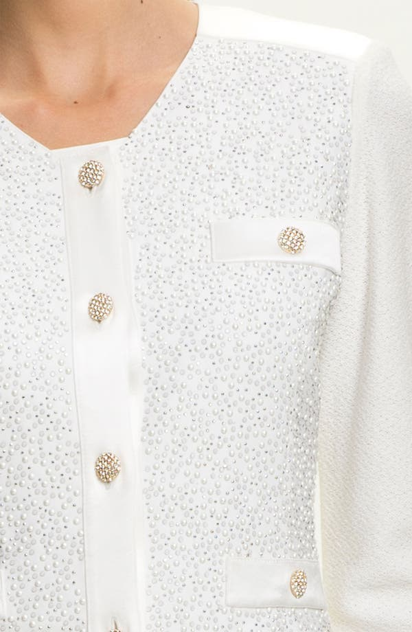 Alternate Image 5  - St. John Collection Cosmopolitan Tweed Jacket