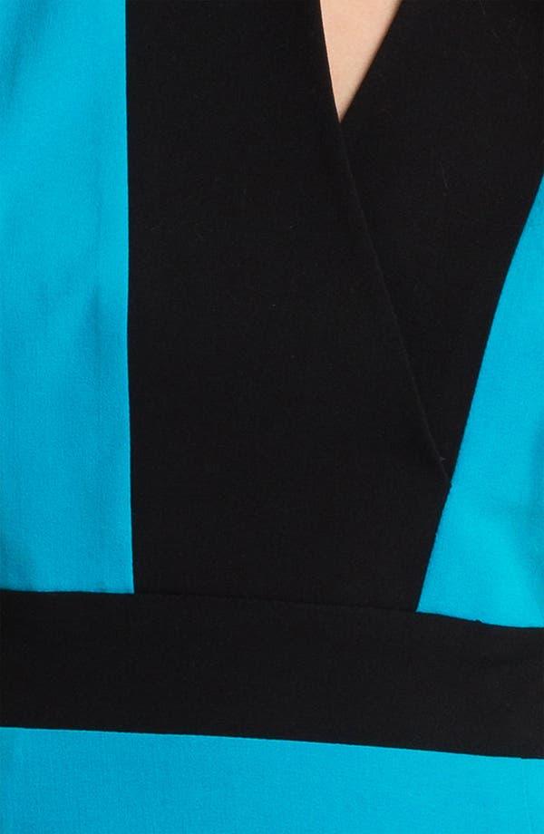 Alternate Image 3  - Calvin Klein Colorblock Sleeveless Sheath Dress