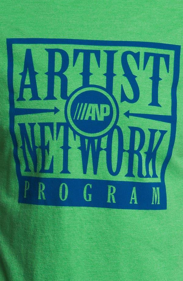 Alternate Image 3  - RVCA 'ANP Box' Vintage Wash T-Shirt