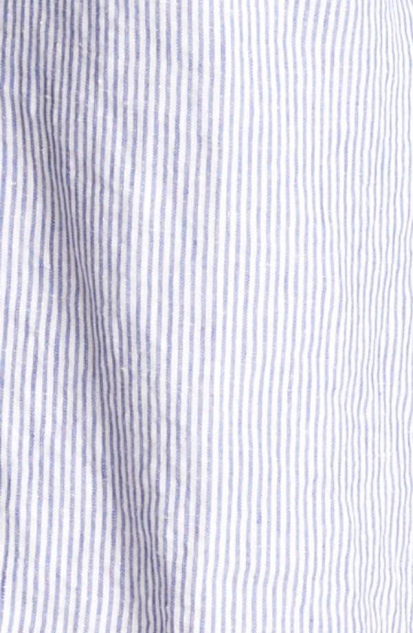 Alternate Image 3  - Vilebrequin Seersucker Linen Cargo Shorts