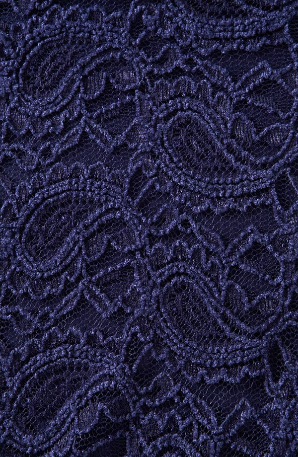 Alternate Image 3  - Topshop Lace Peplum Top