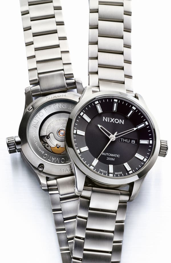 Alternate Image 2  - Nixon 'The Automatic II' Bracelet Watch