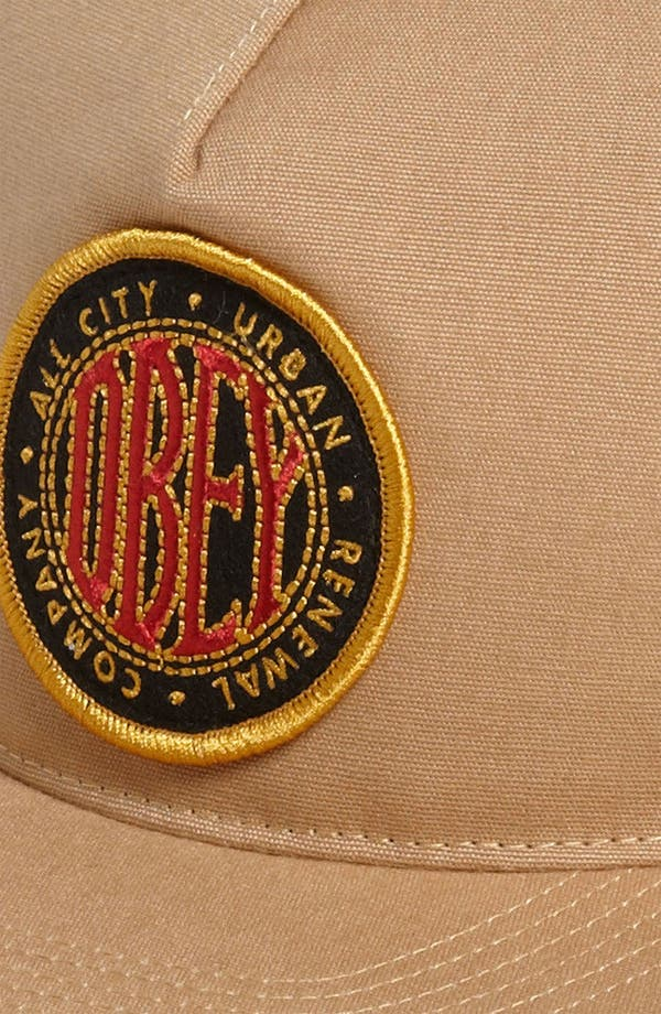 Alternate Image 2  - Obey 'Trademark' Snapback Baseball Cap