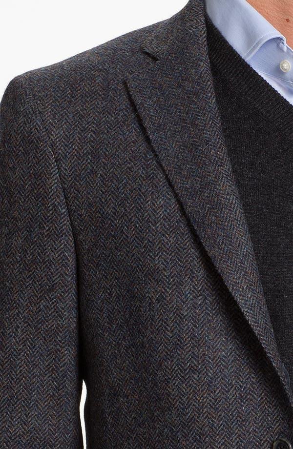 Alternate Image 3  - Hart Schaffner Marx Herringbone Sportcoat