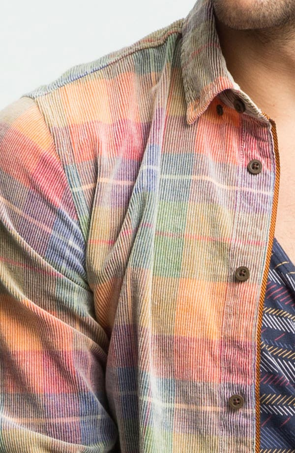 Alternate Image 3  - Zanerobe 'Yellowstone' Plaid Corduroy Shirt