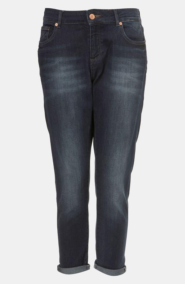 Alternate Image 1 Selected - Topshop Moto 'Ami' Boyfriend Fit Jeans