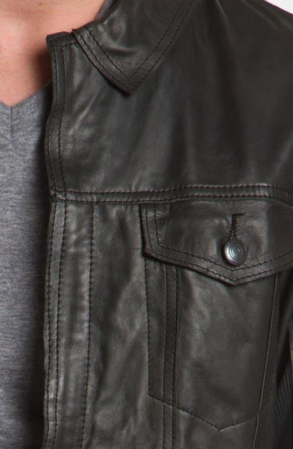 Alternate Image 3  - Edun 'Classic' Leather Moto Jacket