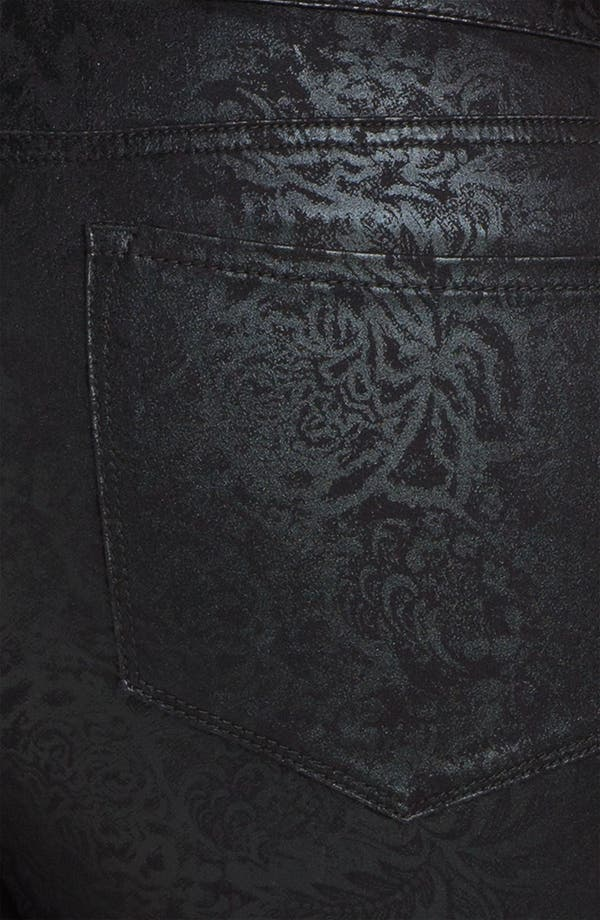 Alternate Image 3  - NYDJ 'Sheri - Gilded Lily' Stretch Denim Jeans (Plus)
