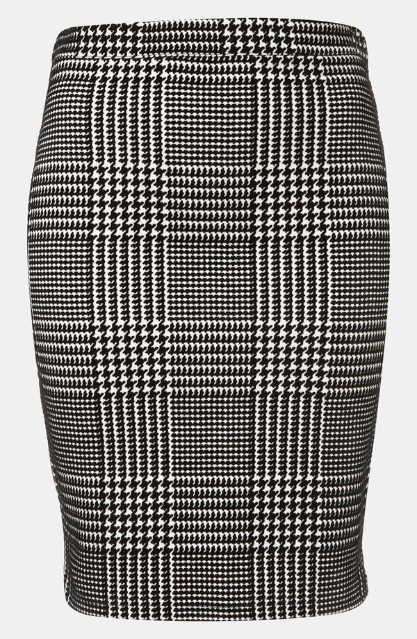 Alternate Image 1 Selected - Topshop Houndstooth Check Pencil Skirt
