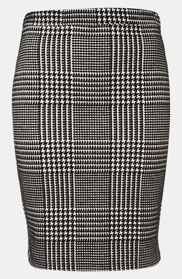 Main Image - Topshop Houndstooth Check Pencil Skirt