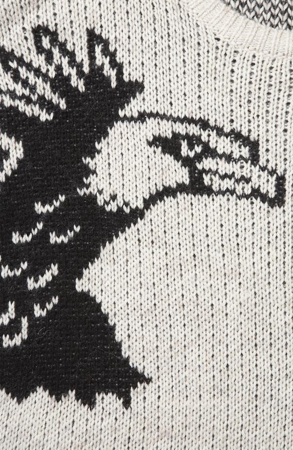 Alternate Image 3  - Topshop 'Mirror Eagle' Sweater