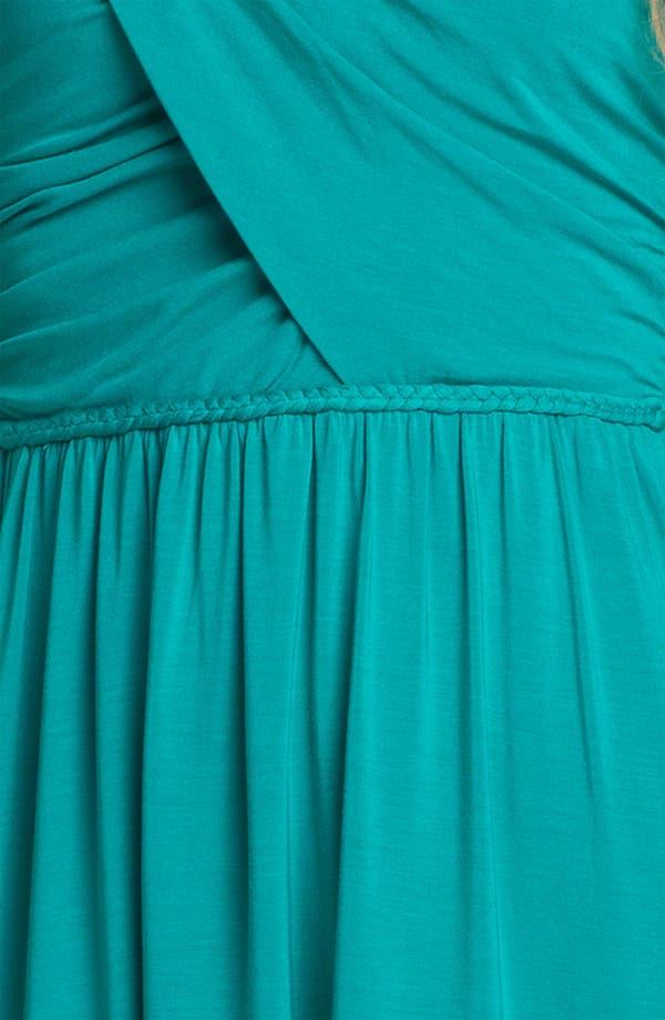 Alternate Image 3  - Tart 'Delaney' Strapless Shirred Jersey High/Low Dress