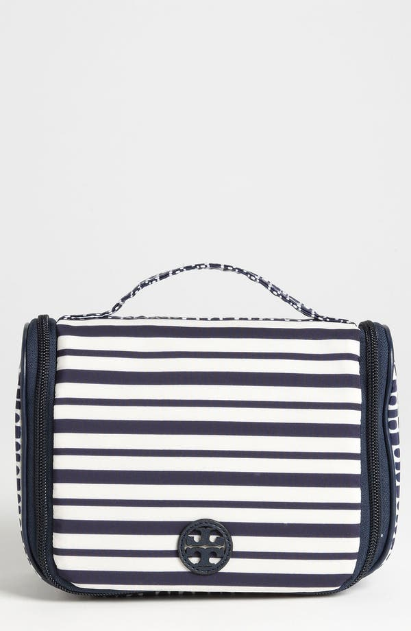 Alternate Image 1 Selected - Tory Burch Stacked Logo Travel Bag