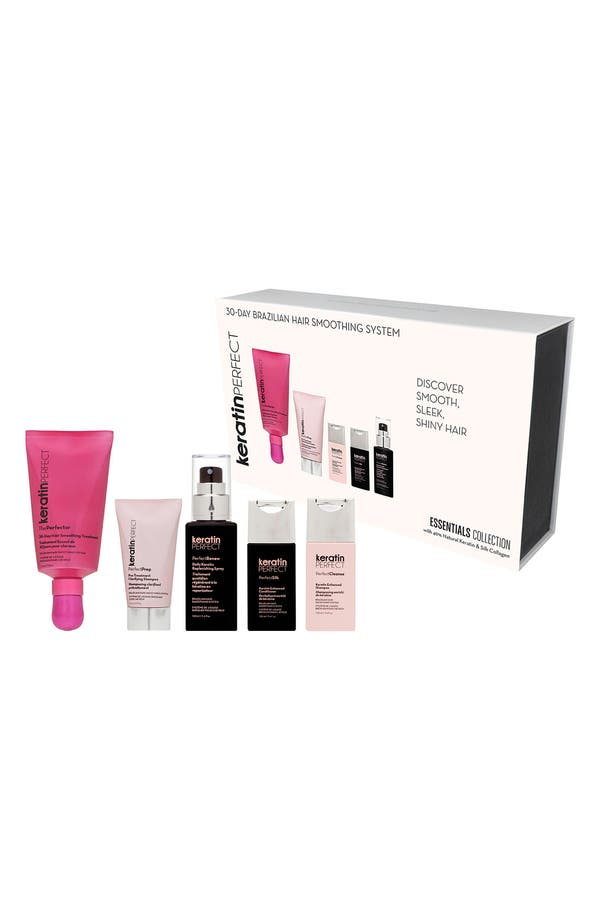 Alternate Image 2  - KeratinPerfect At-Home Brazilian Hair Smoothing System (Essentials Collection)