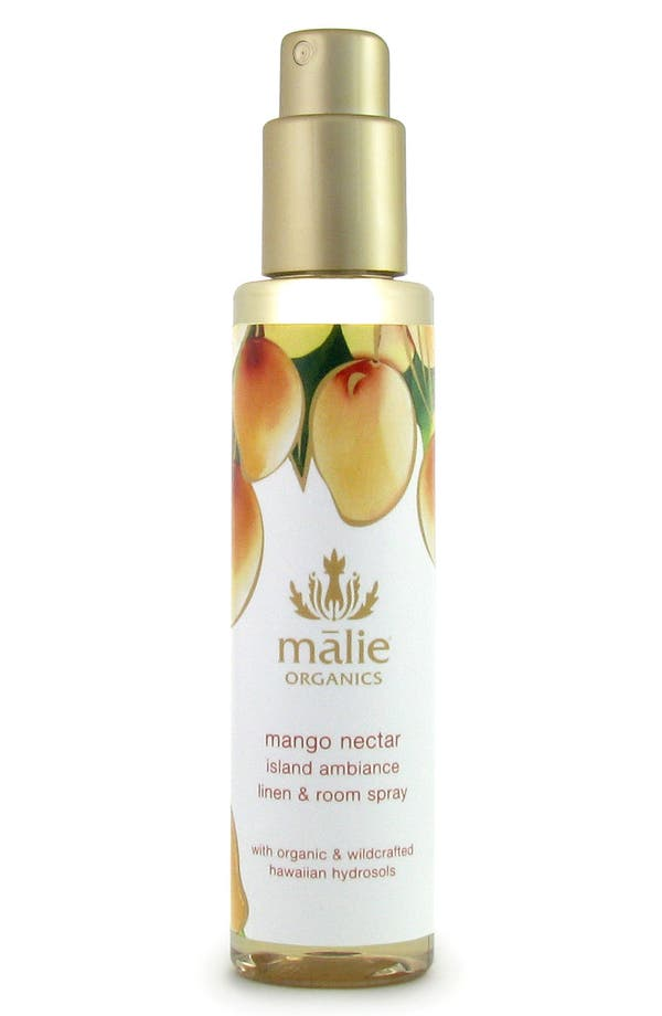 Alternate Image 1 Selected - Malie Organics Mango Nectar Organic Linen & Room Spray