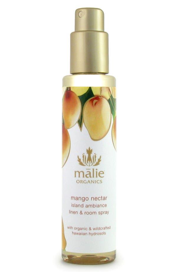 Main Image - Malie Organics Mango Nectar Organic Linen & Room Spray
