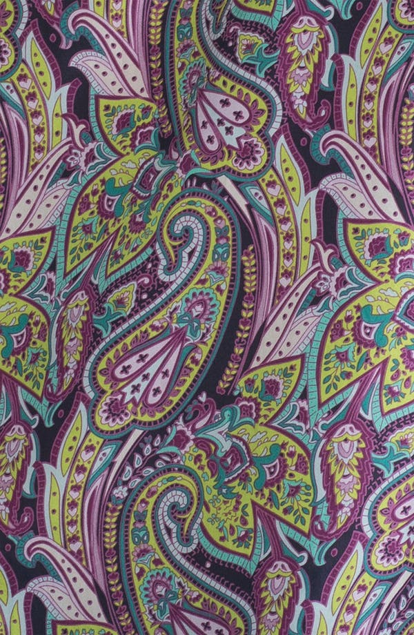 Alternate Image 3  - Hinge® Split Shoulder Paisley Silk Top