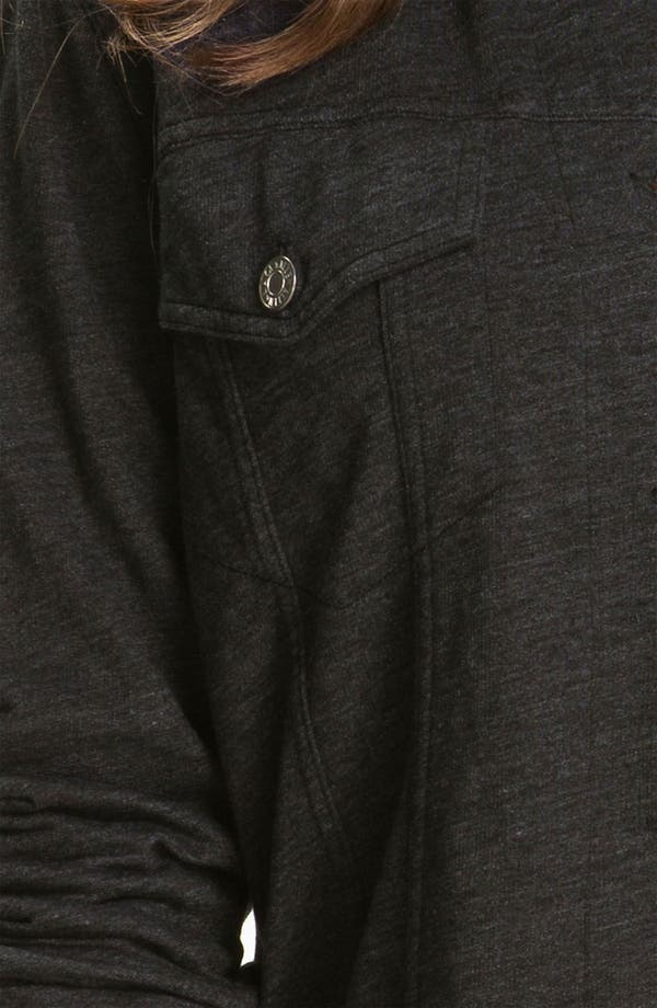 Alternate Image 3  - Allen Allen Knit Jeans Jacket (Plus)