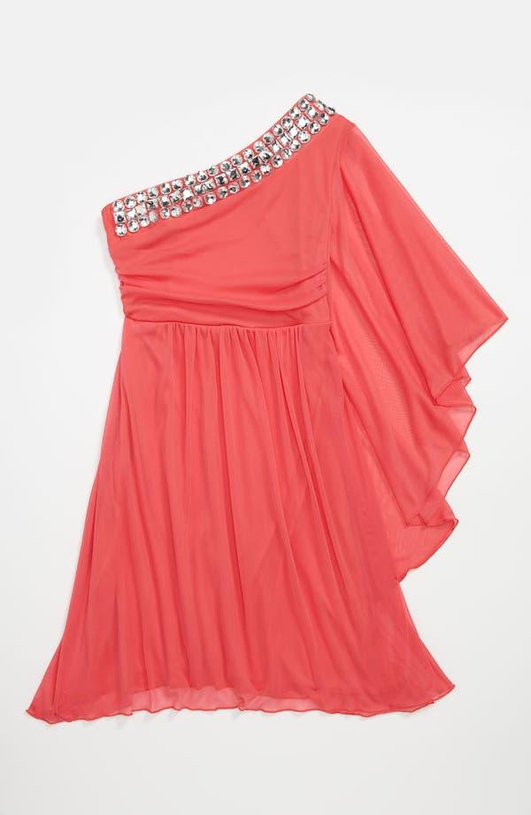 Main Image - Roxette Rhinestone Dress (Big Girls)