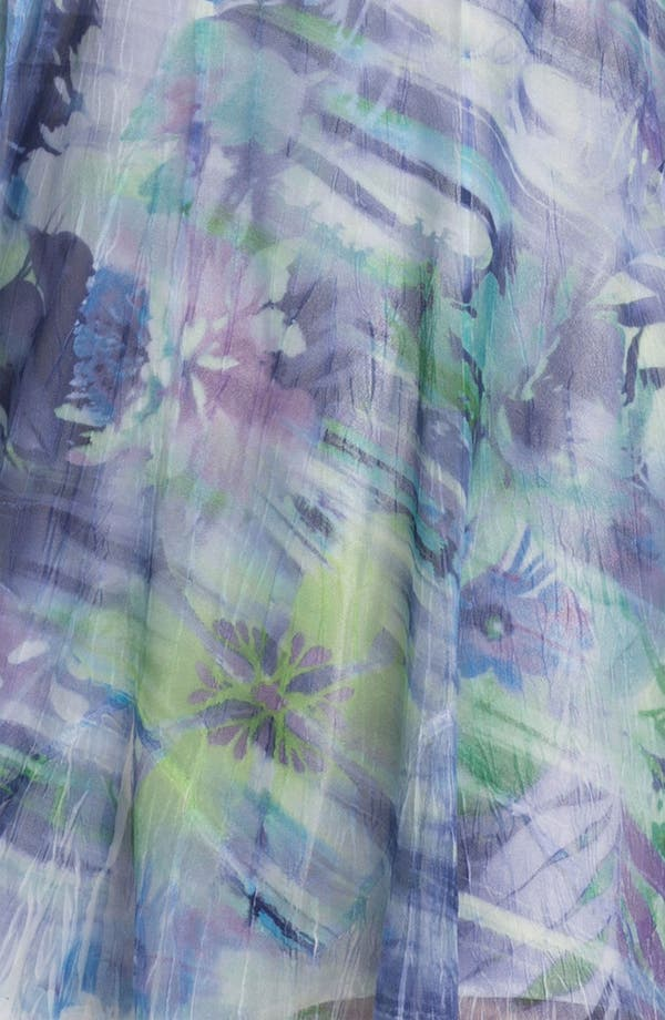 Alternate Image 3  - Komarov Sheer Print A-Line Dress