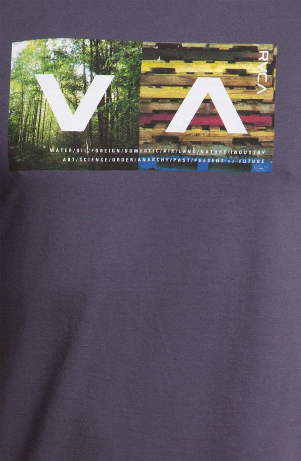 Alternate Image 3  - RVCA 'The Woods' Graphic T-Shirt