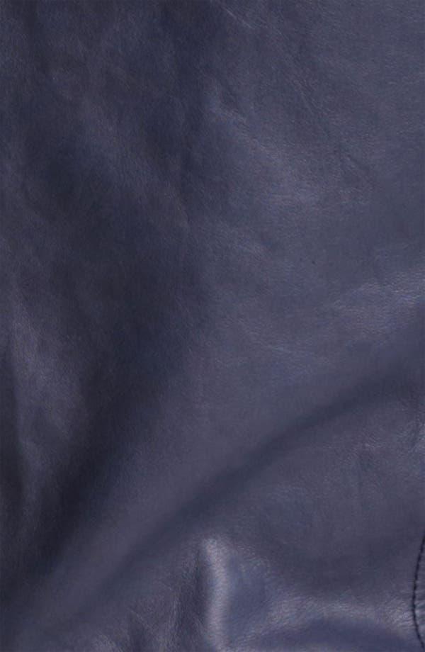 Alternate Image 3  - Dolce&Gabbana Hooded Leather Jacket