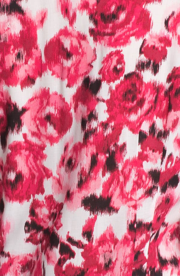 Alternate Image 3  - Foxcroft 'Ikat Rose' Shirt (Petite)