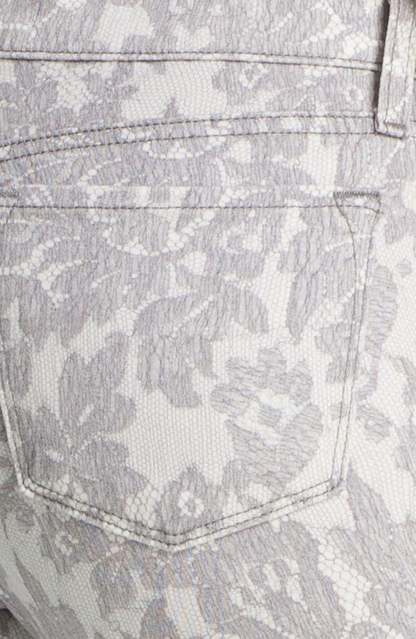 Alternate Image 3  - J Brand Print Skinny Leg Jeans (All Over Lace)