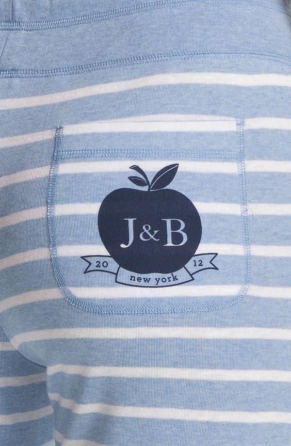 Alternate Image 3  - Jane & Bleecker New York Crop Rib Lounge Pants