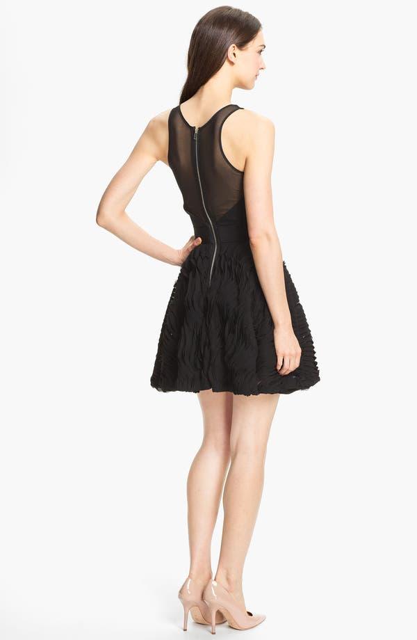Alternate Image 2  - Milly Illusion Yoke Fit & Flare Dress