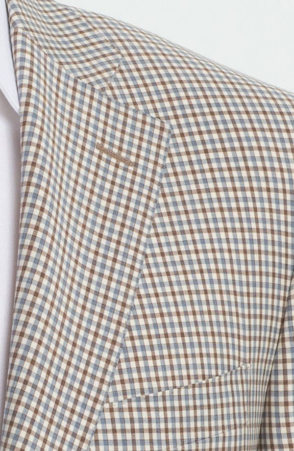 Alternate Image 2  - Canali Check Wool Sportcoat