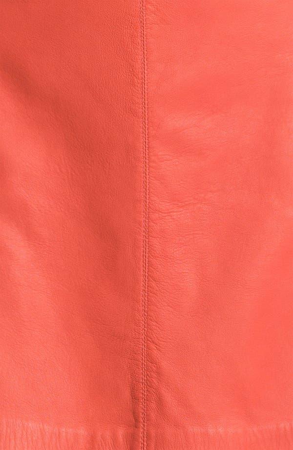 Alternate Image 3  - MARC BY MARC JACOBS 'Jett' Leather Skirt
