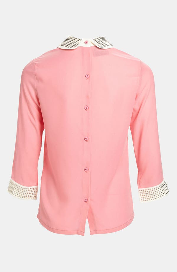 Alternate Image 2  - I.Madeline Studded Collar Blouse