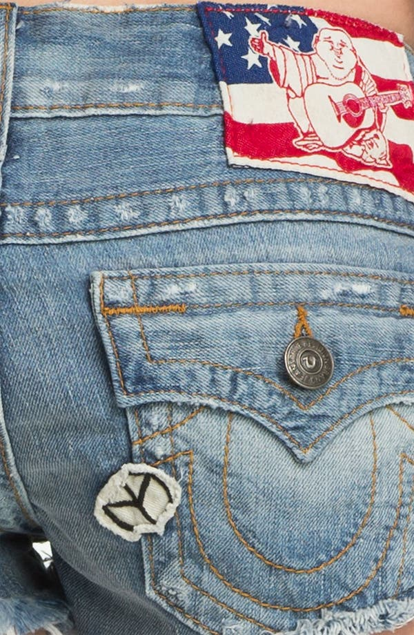 Alternate Image 3  - True Religion Brand Jeans 'Joe' Cutoff Denim Shorts (Keystone)