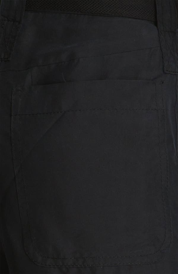 Alternate Image 5  - Edun Mesh Trim Silk Cargo Pants