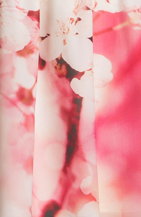 Alternate Image 3  - Alice + Olivia Print Cap Sleeve Dress
