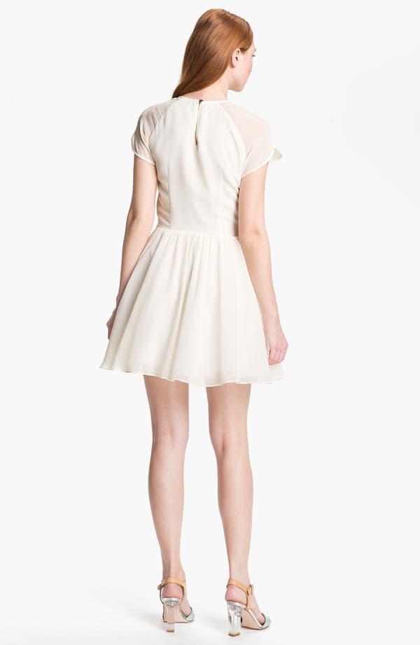 Alternate Image 2  - Ted Baker London Organza Fit & Flare Dress (Online Only)
