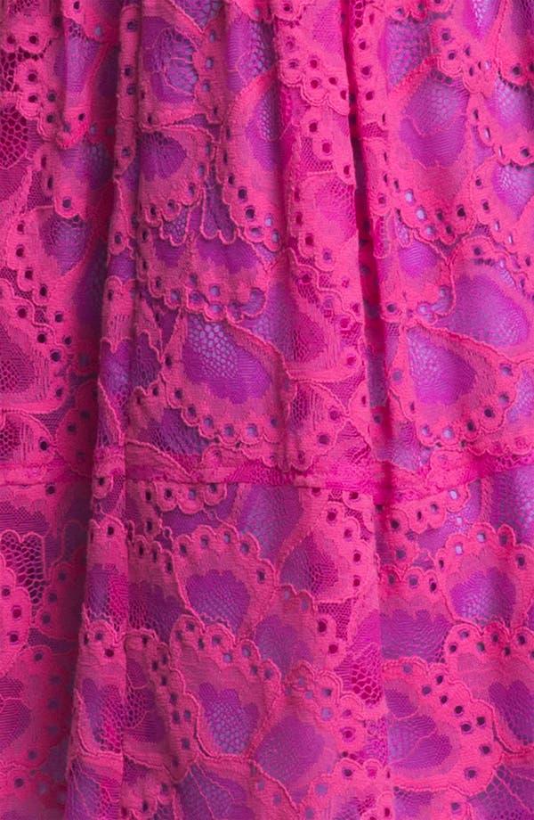 Alternate Image 3  - Nanette Lepore 'Secret Escape' Cotton Blend A-Line Dress