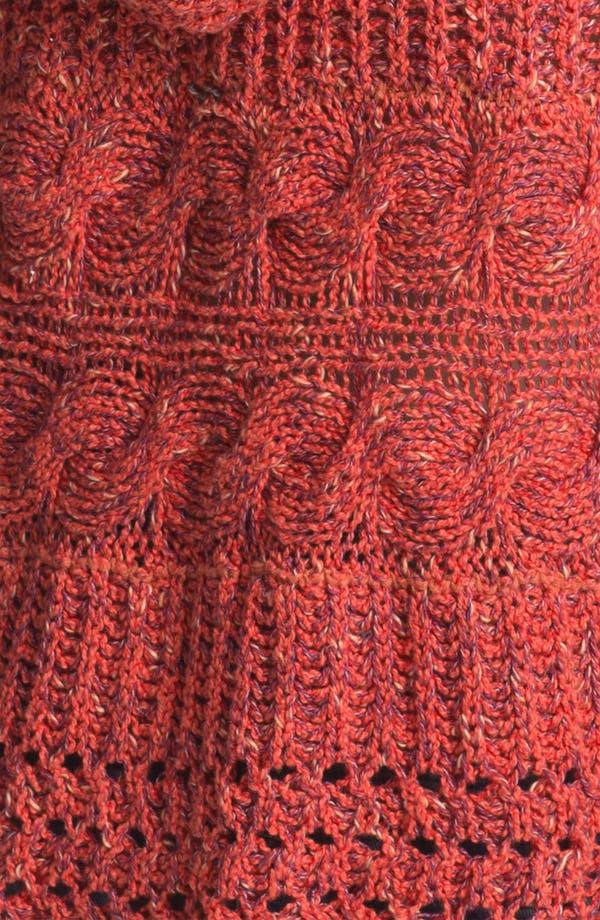 Alternate Image 3  - Free People 'Santa Rosa' Fringe Trim Hooded Sweater