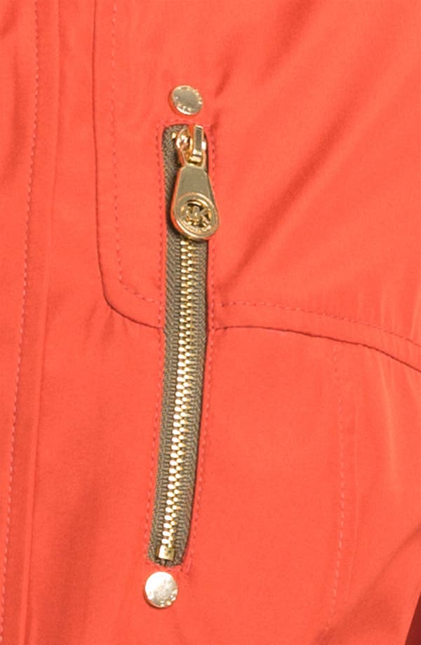 Alternate Image 4  - MICHAEL Michael Kors Zip Front Softshell Jacket